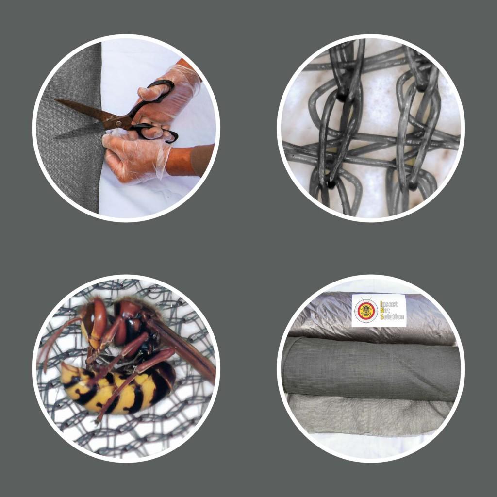 Filet anti-insectes imprégné Insect Net Solution®
